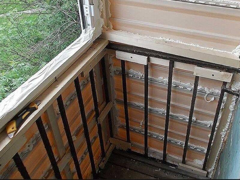 Как утеплить балкон в хрущевке?
