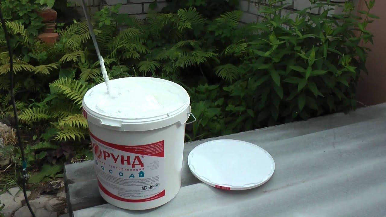 Жидкая теплоизоляция корунд: сверхтонкая краска, технические характеристики утеплителя