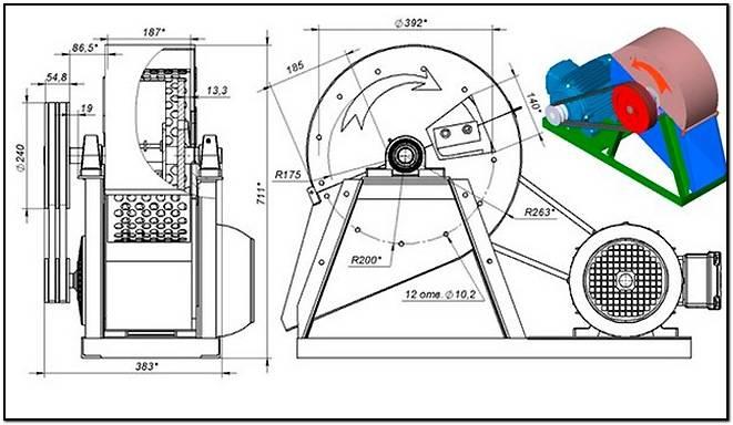 Щепа для арболита: как сделать щепорез своими руками по чертежу? выбор древесной дробилки для производства арболитовой щепы