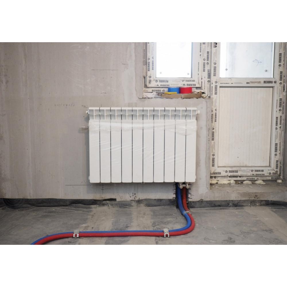 Подключение радиаторов с нижней подводкой | всё об отоплении