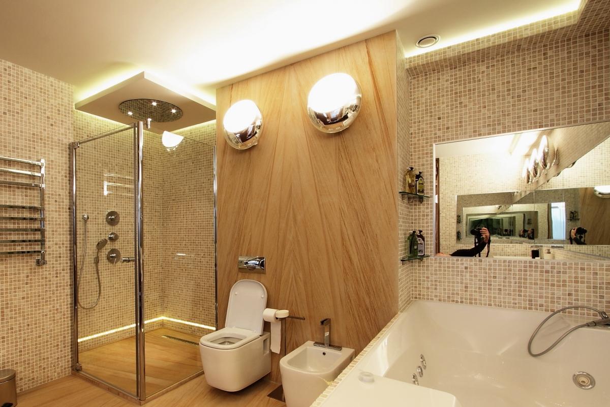 Освещение в ванной комнате, особенности и варианты