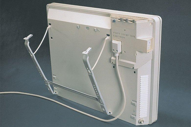Установка электрического конвектора на стену — нормы и правила