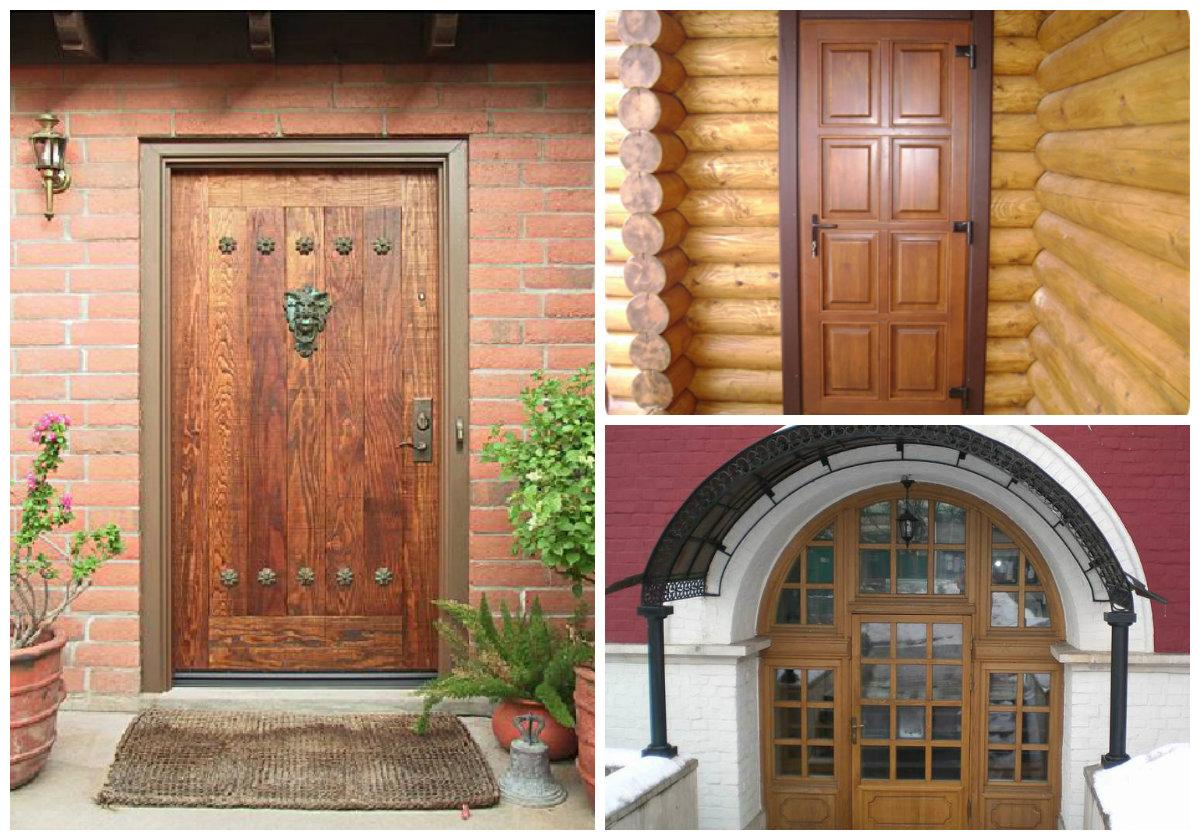 Выбор входной металлической двери для деревянного дома