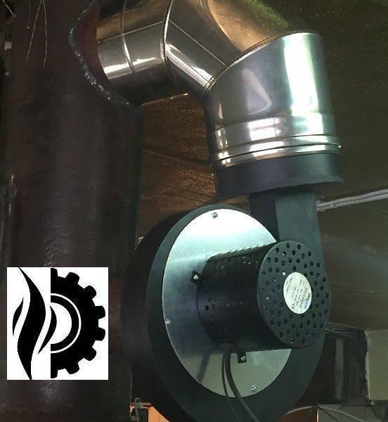 Дымосос для котла бытовой – установка вентилятора своими руками