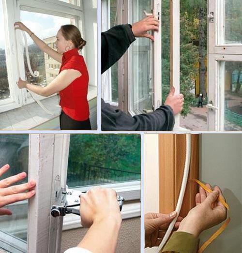 Как утеплить деревянные окна на зиму   советы специалистов