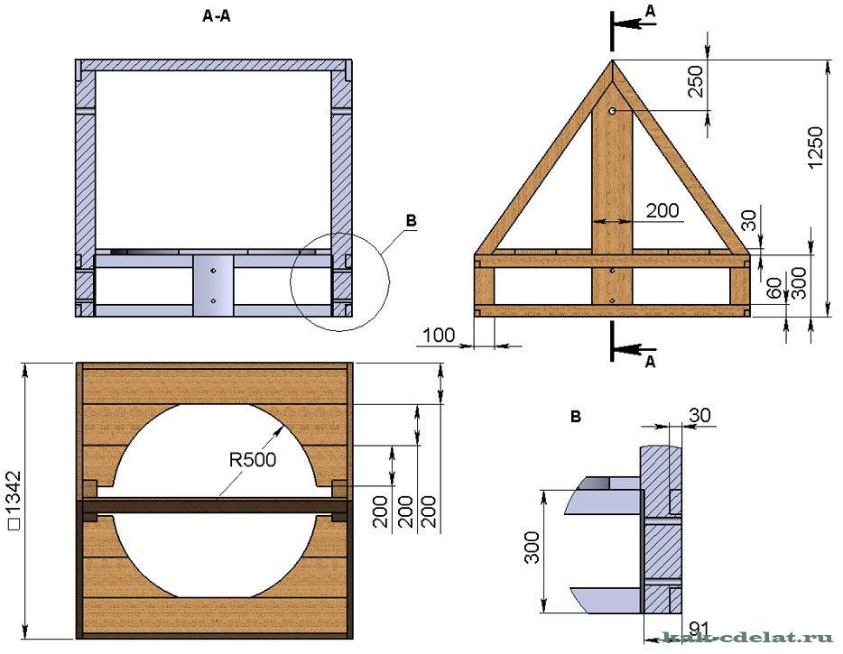 Домик для колодца своими руками - 110 фото вариантов оформления и инструкция по монтажу