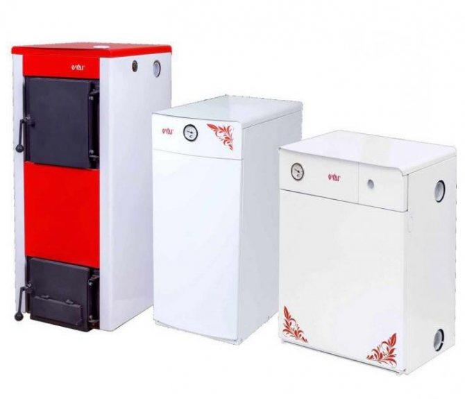 Отечественные напольные газовые котлы – особенности устройства и производители