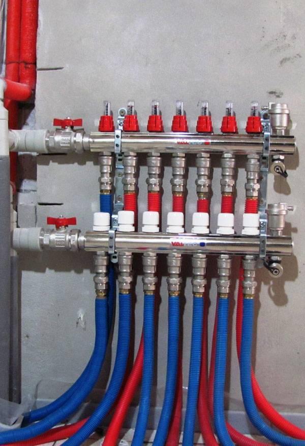 Гребенка распределительная для отопления - правила размещения