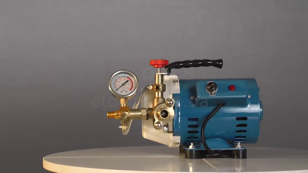 Насос для опрессовки системы отопления: назначение, типы и технические характеристики