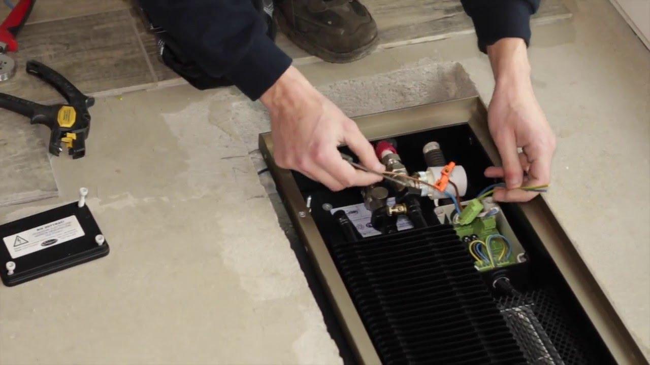 [видео] хитрости монтажа внутрипольного конвектора водяного отопления - eurosantehnik.ru