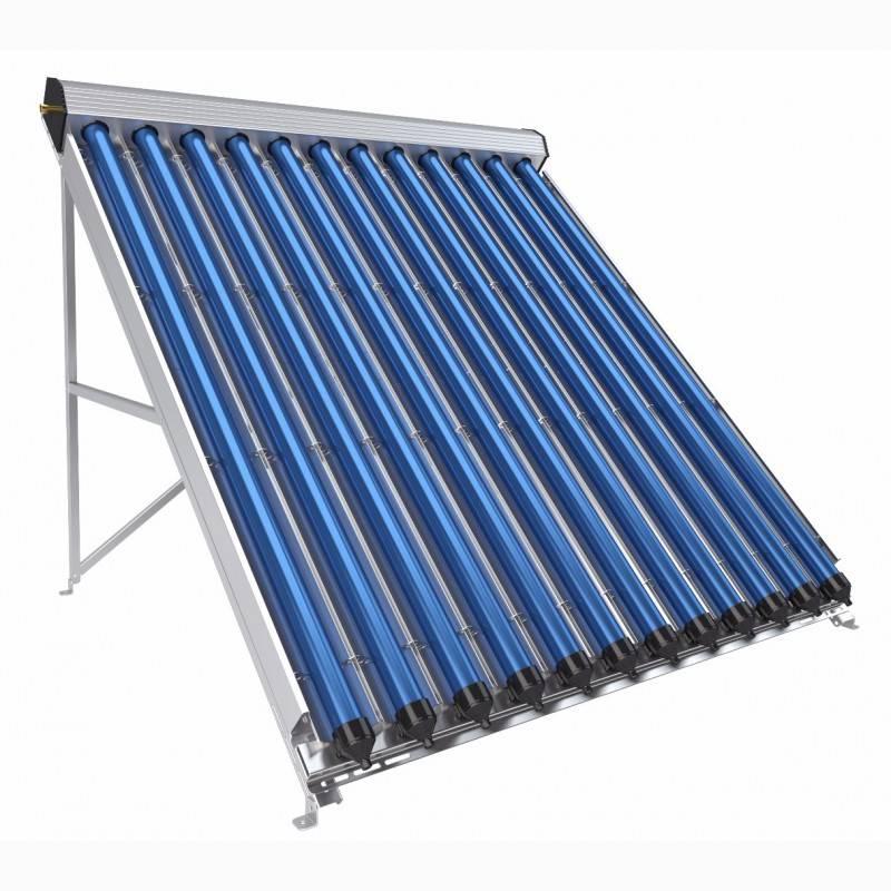 Вакуумный солнечный коллектор — особенности эксплуатации