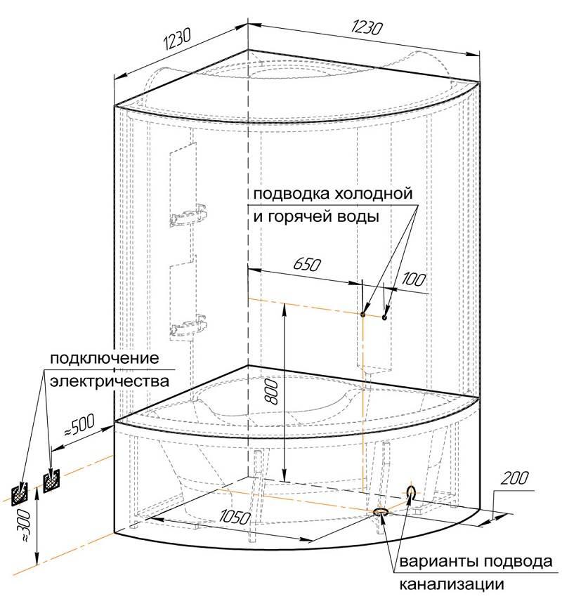 Сборка душевых кабин своими руками: видео и инструкция как собрать душевую кабину