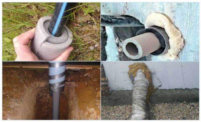 Утепление водопроводной трубы на зиму
