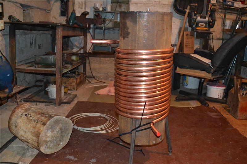 Теплообменник для банной печи: виды, изготовление и установки своими руками