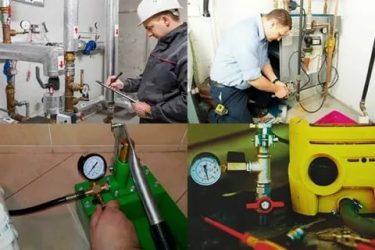 Проведение опрессовки отопительной системы в частном доме