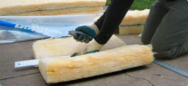 Чем резать утеплитель из минеральной ваты? - бетонирование и стяжка от а до я