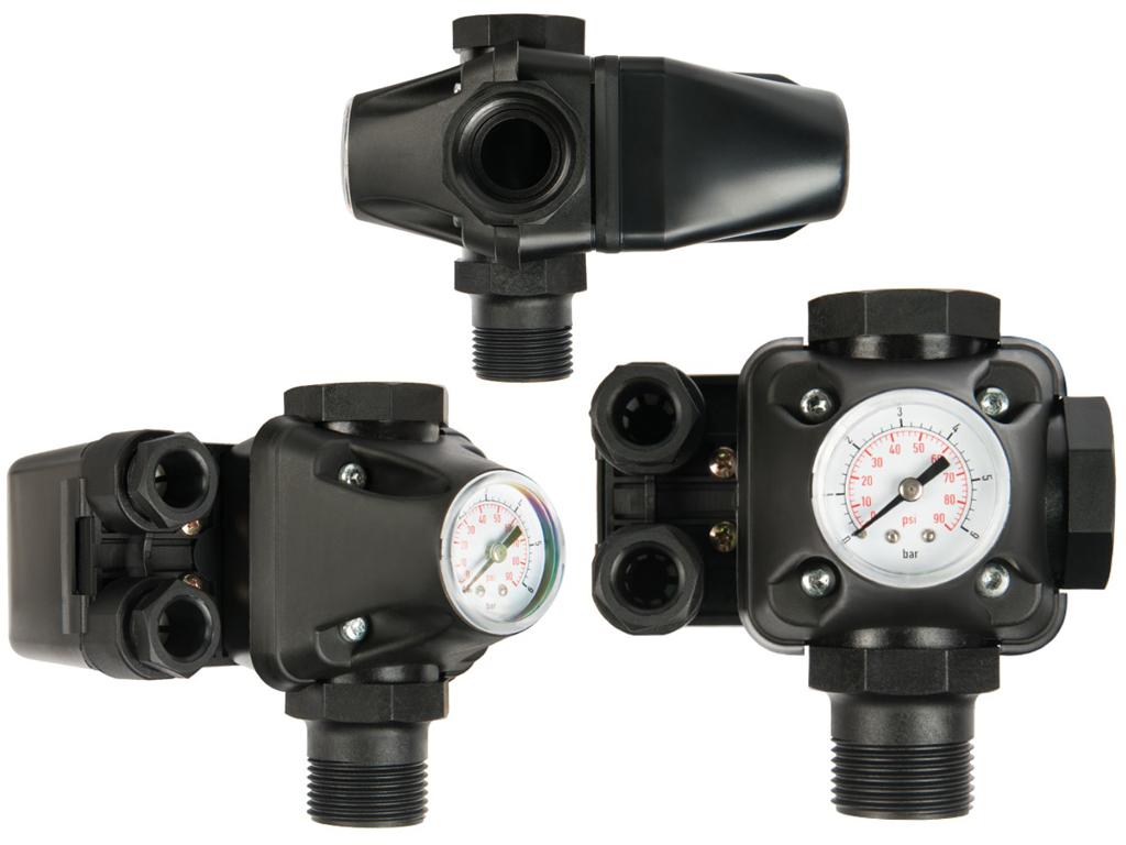 Монтаж и регулировка датчика давления воды в системе водоснабжения