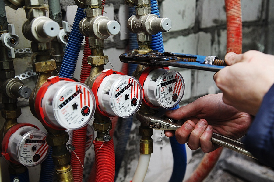 Общедомовые приборы учета воды