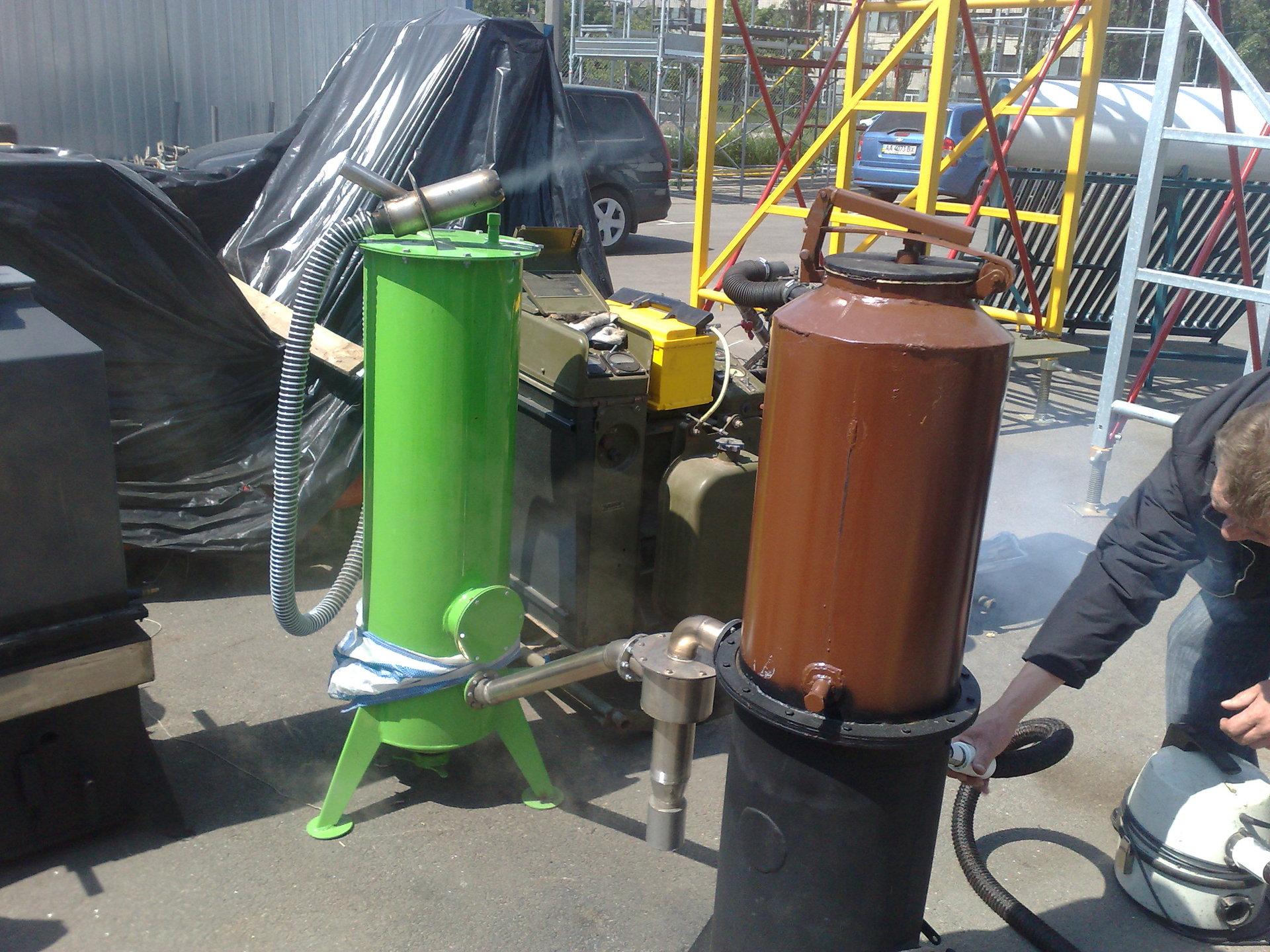Газогенератор на дровах своими руками — для дома и автомобиля