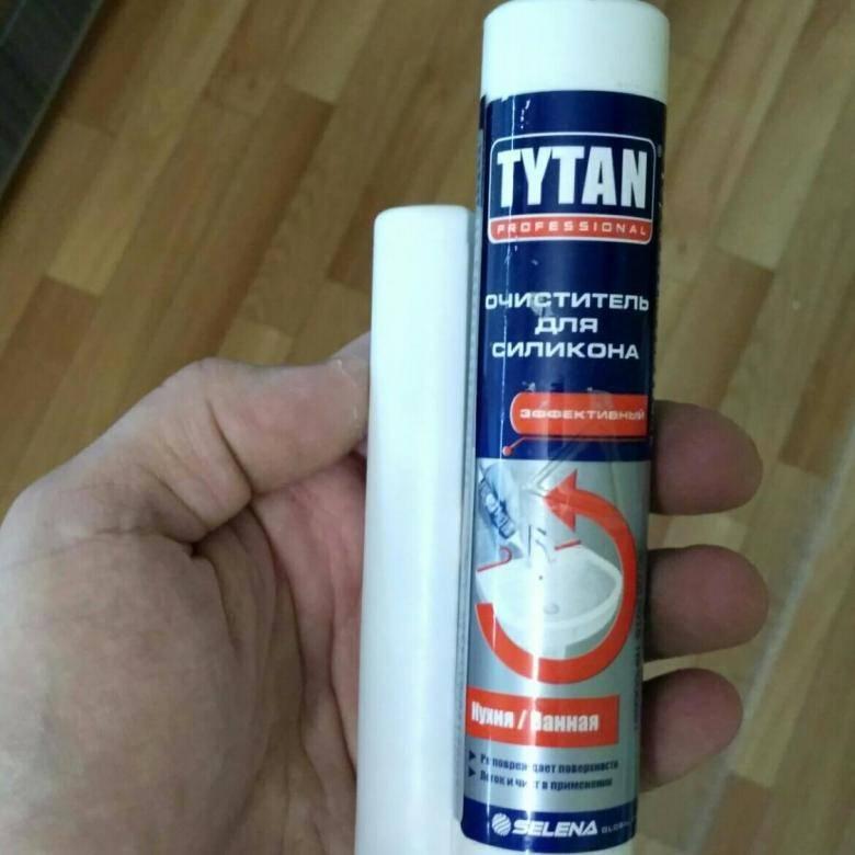 Следы герметика на ванной: как избавиться от пятен