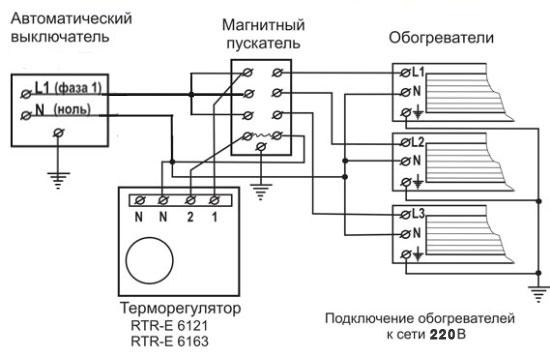 Как подключить терморегулятор кинфракрасному обогревателю? советы иподробная инструкция