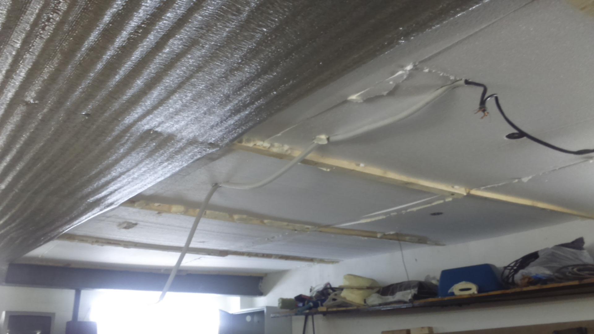Как утеплить потолок в гараже изнутри своими руками