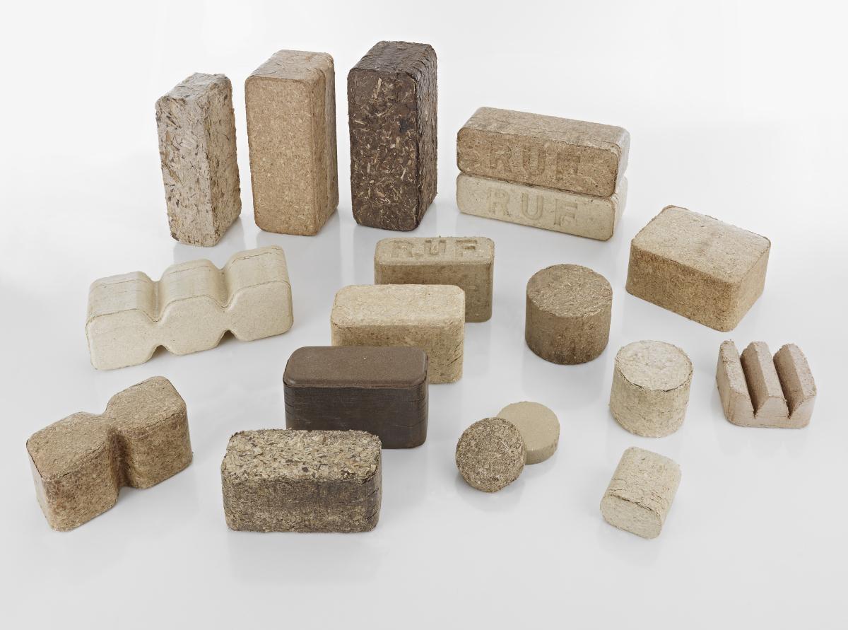 Брикеты для отопления: угольные, древесные, торфяные - обзор видов