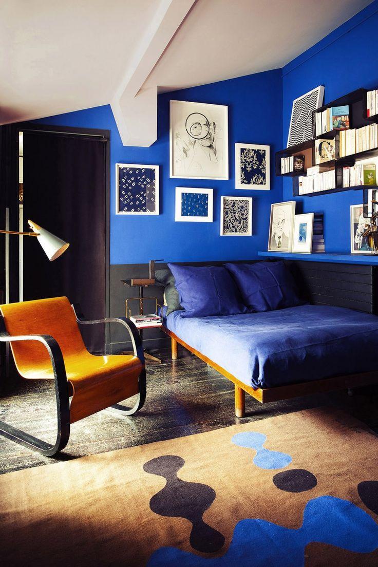 Синий цвет в интерьере: сочетания и идеи (95 фото)