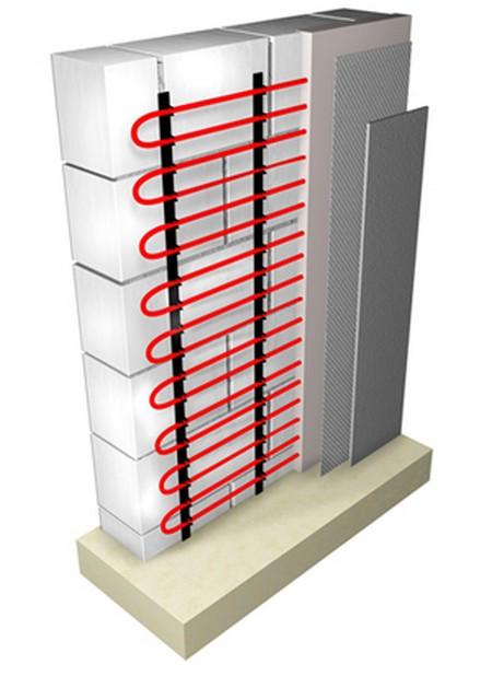 Встроенное отопление – водяные теплые стены | грейпей