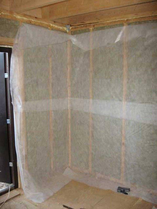 Утепление стен внутри под гипсокартоном: как обшить стены внутри дома своими руками качественным теплоизоляционным материалом, и почему это сэкономит тепло?