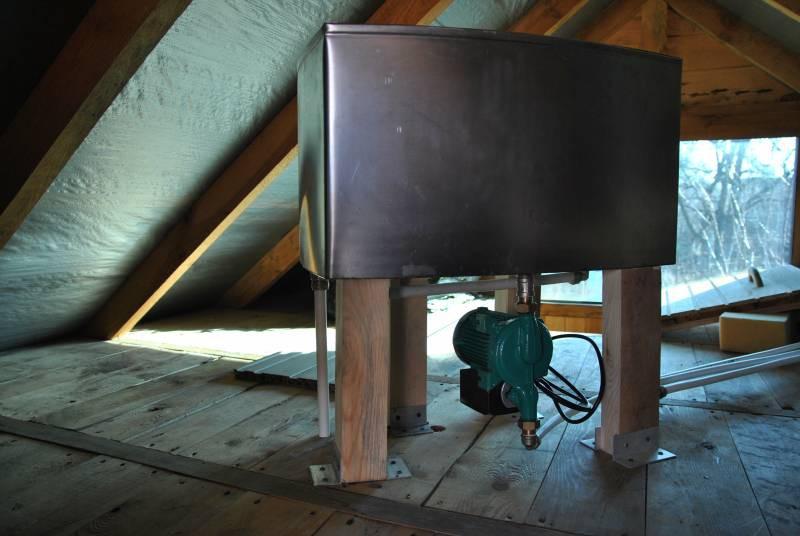 Установка расширительного бака в системе отопления: монтаж, схема крепления, устройство расширительного бачка, смотрите фото и видео