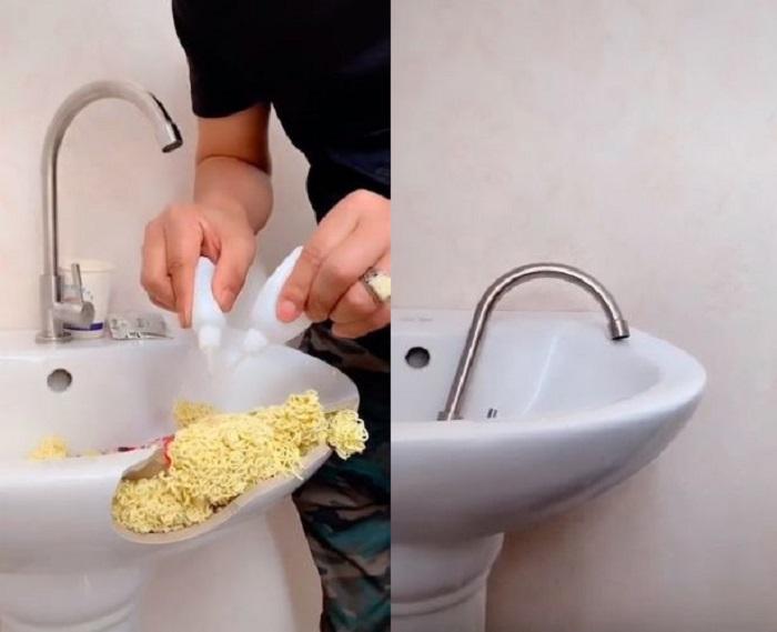 Как заделать трещины, сколы в раковине или мойке