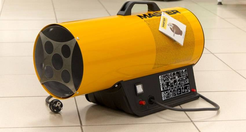 Как выбрать газовую пушку для гаража: оптимальное решение