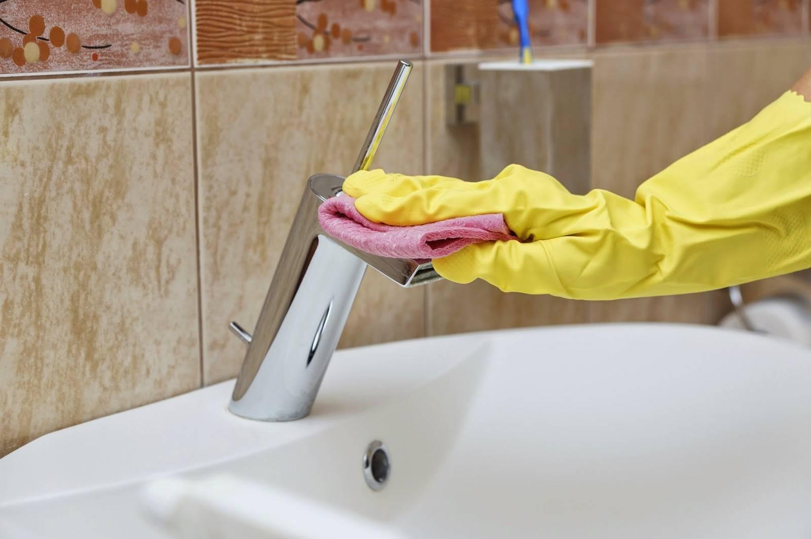 Как очистить ванну от желтого налета в домашних условиях - советы