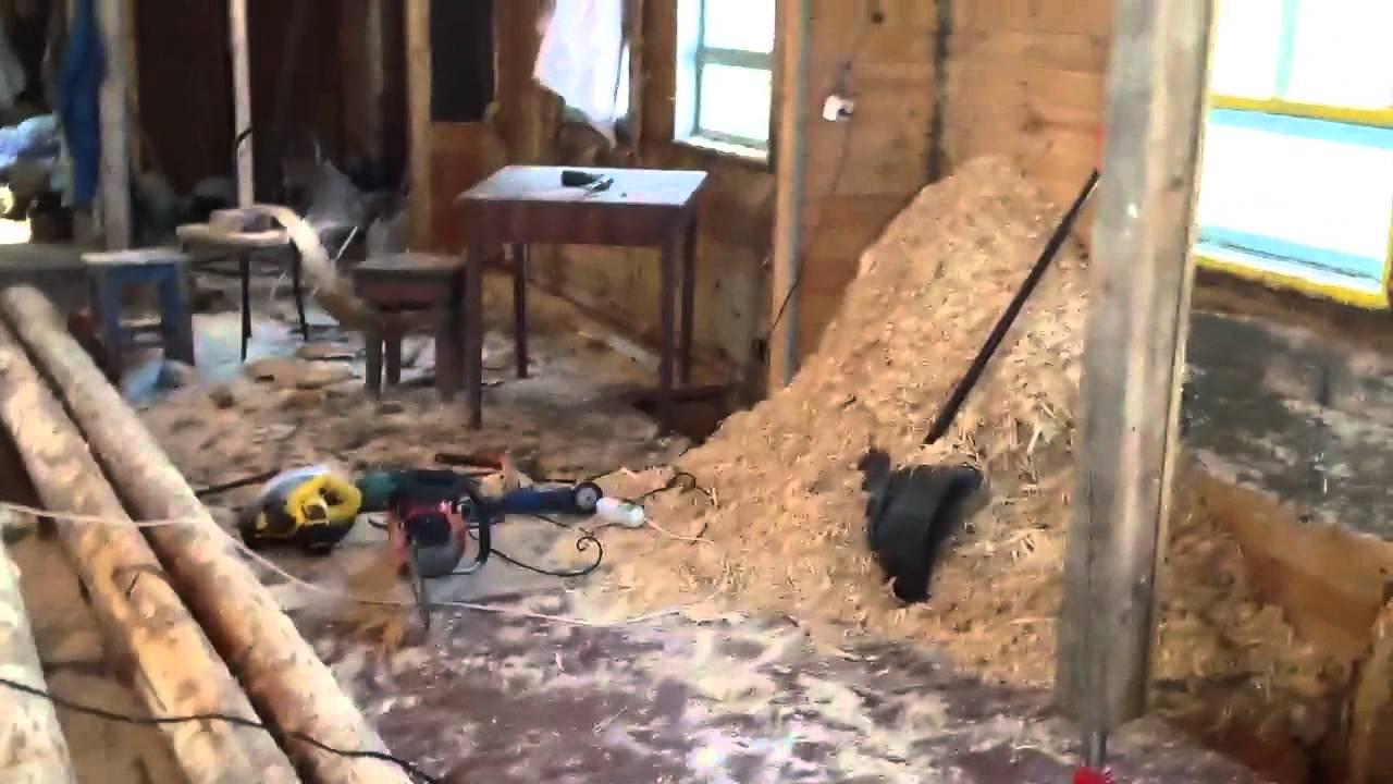 Утепление опилками: плюсы и минусы утепления стен каркасного дома своими руками