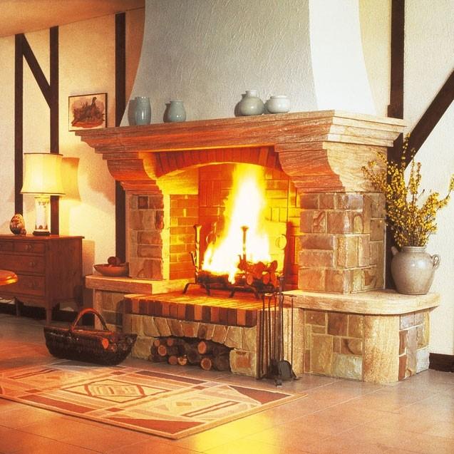 Как выбрать камин для загородного дома?: виды, описание