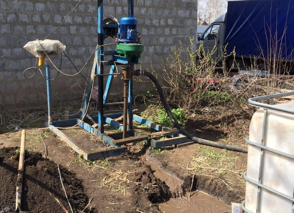 Как пробить скважину для воды своими руками - виды скважин и инструменты для бурения
