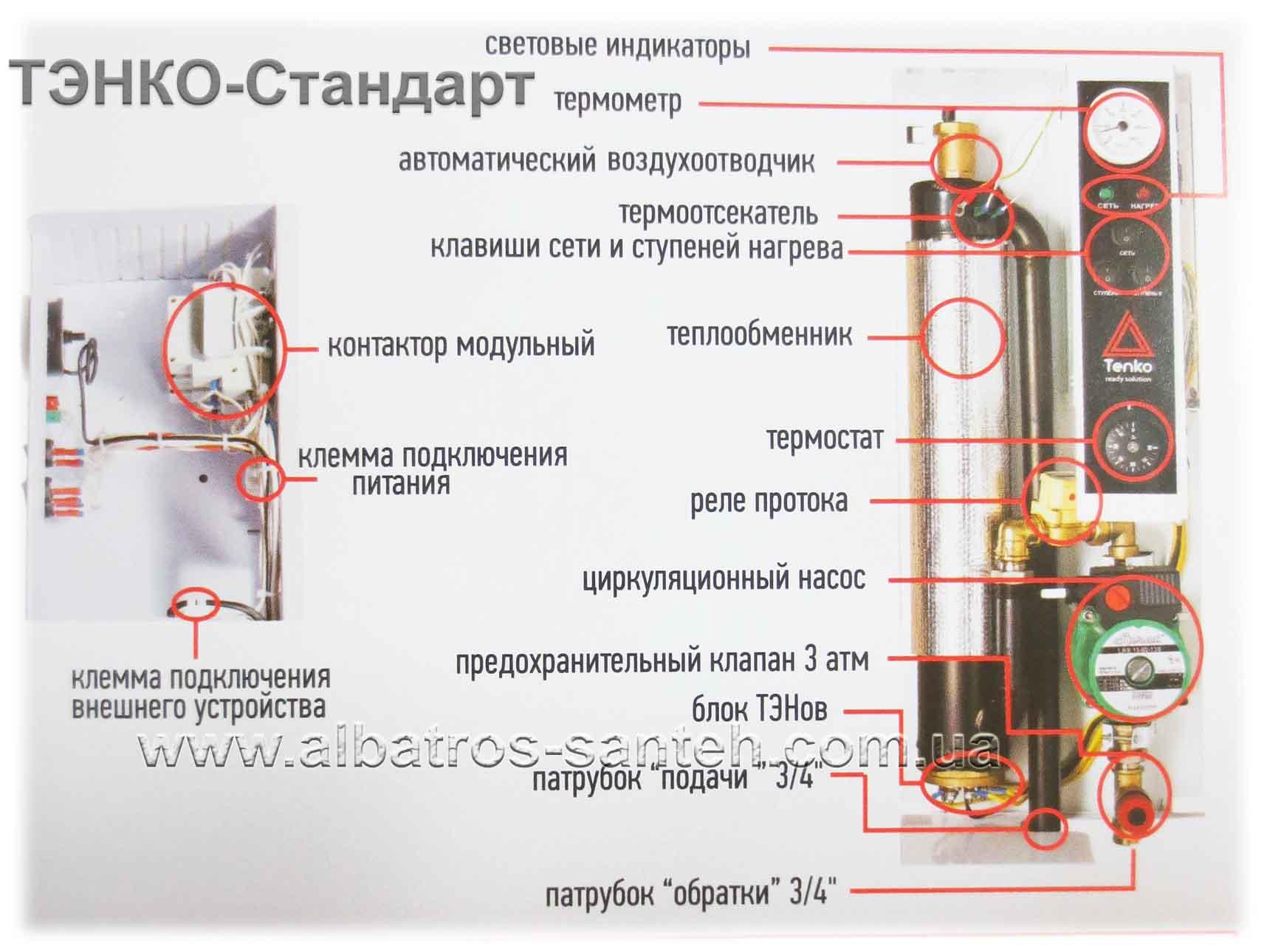 Электродные электрические котлы: принцип работы, достоинства и недостатки