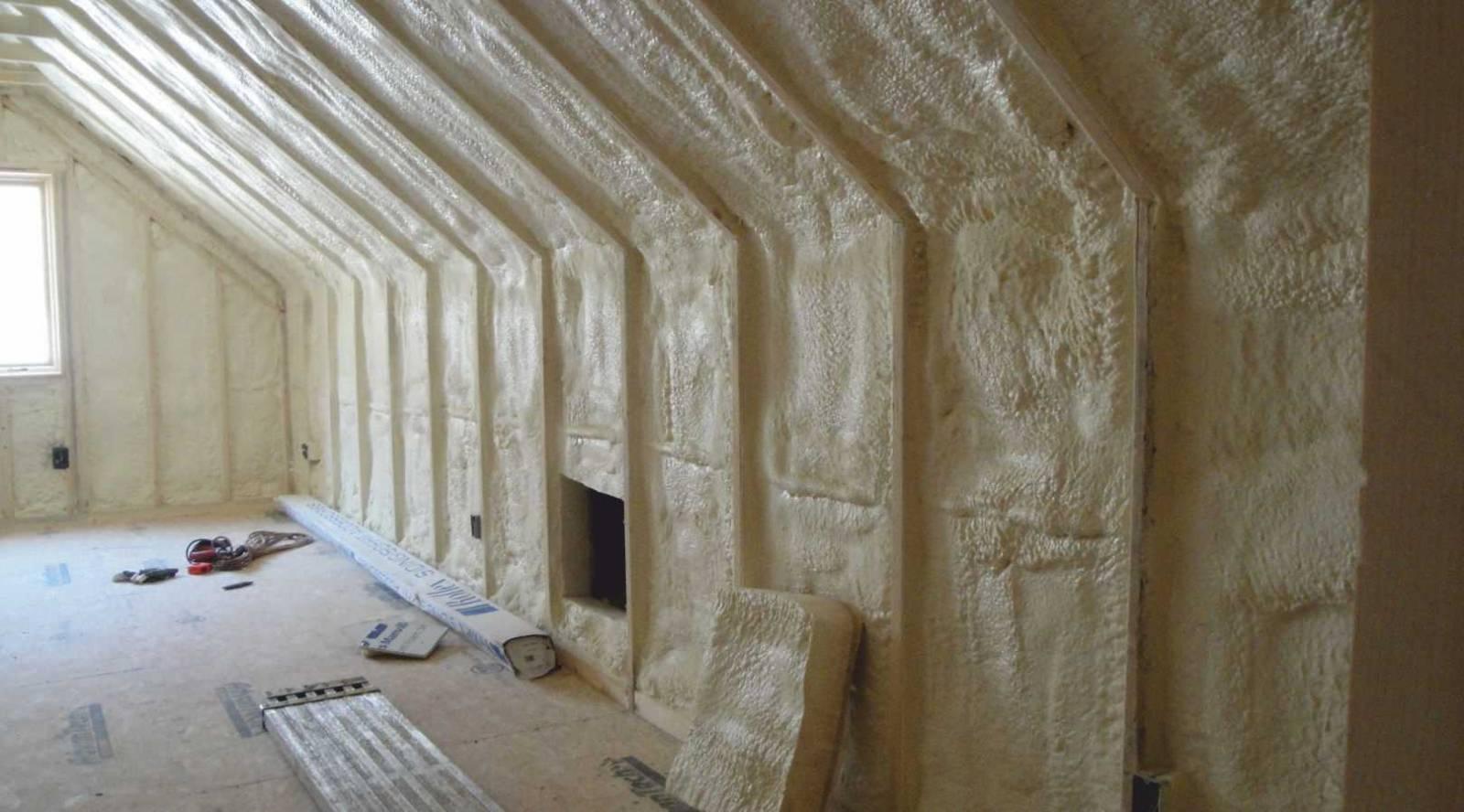 Утепление пенополиуретаном: отзывы. утепление пенополиуретаном мансарды, крыши или стен дома
