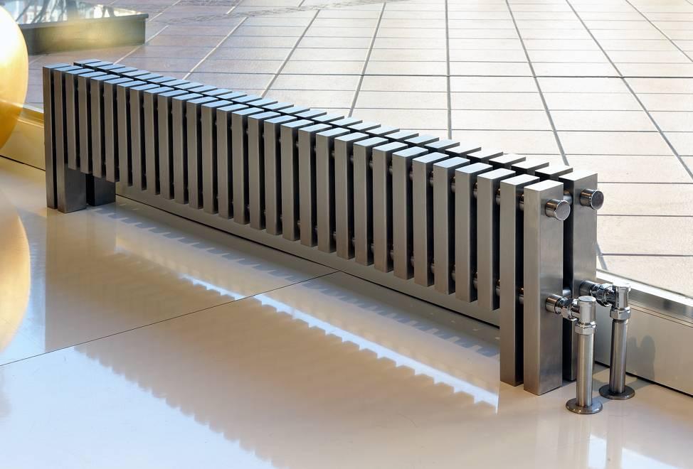 Низкие радиаторы отопления: как выбрать водяне батареи отопления для панорамных и витражных окон, высота, габариты и технические характеристики, лучшие модели и их цены