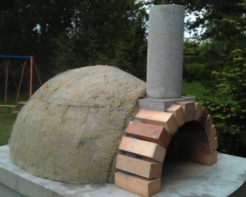 Дровяная печь для пиццы (помпейская) своими руками: порядовка