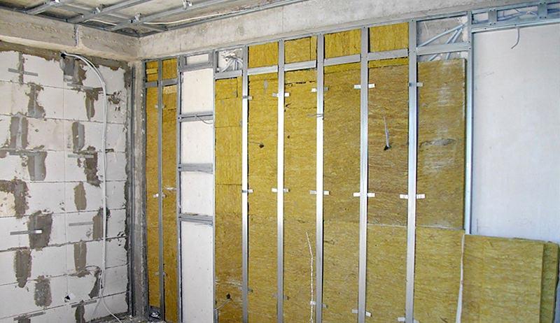 Как сделать шумоизоляцию межкомнатных стен и перегородок из гипсокартона в квартире своими руками: видео
