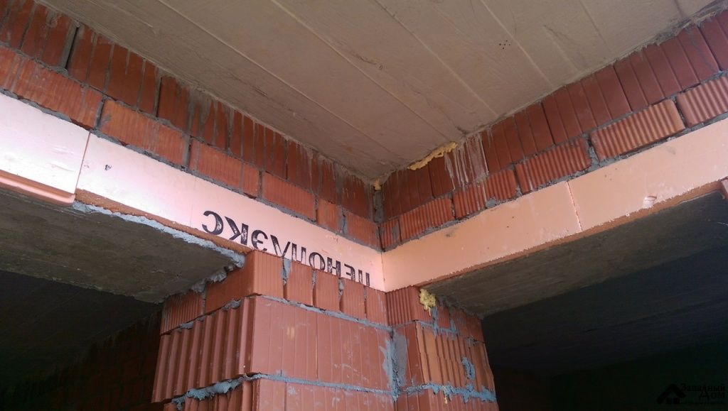Правильный монтаж перемычек в стенах и перегородках