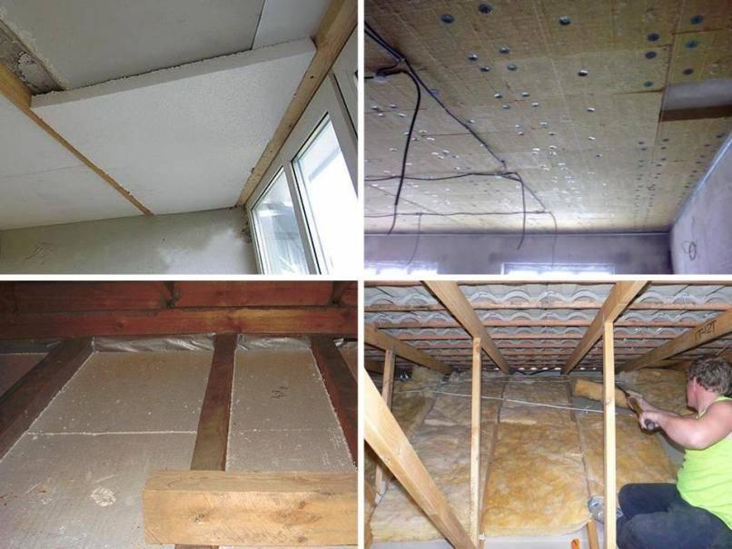 Утепление потолка на даче своими руками и выбор материалов