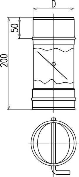 Шиберная задвижка для дымохода — инструкция по созданию своими руками