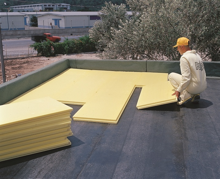 Утепление плоской кровли: материалы, устройство крыши,этапы работы