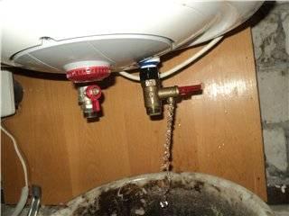 Как быстро и полностью слить воду с водонагревателя