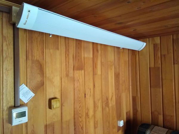 Инфракрасные обогреватели с терморегулятором для дачи - выбираем!
