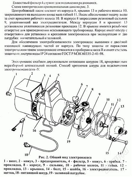 «агидель» (насос): технические характеристики и инструкция