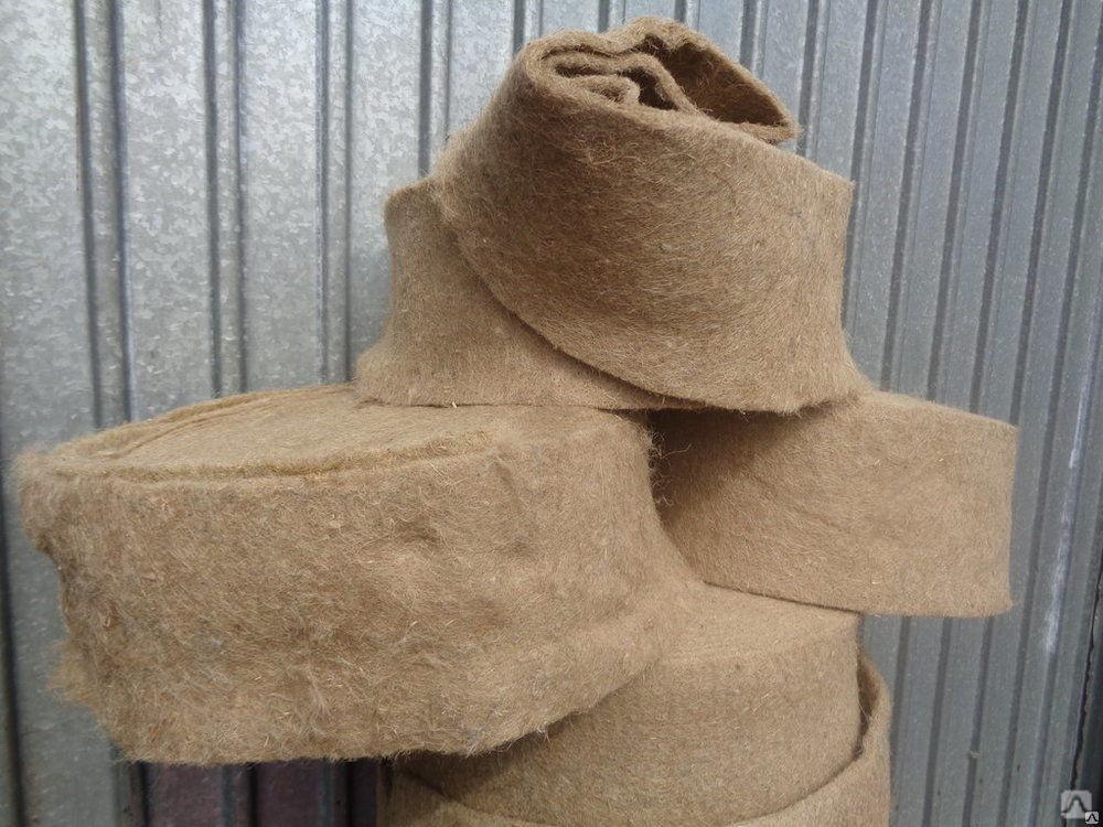 Утеплитель из льна: характеристики и применение